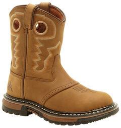 Rocky Children's Branson Roper Western Boots - Round Toe, , hi-res