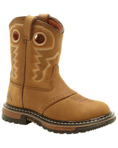 Rocky Youth Boys' Branson Roper Western Boots - Round Toe, , hi-res