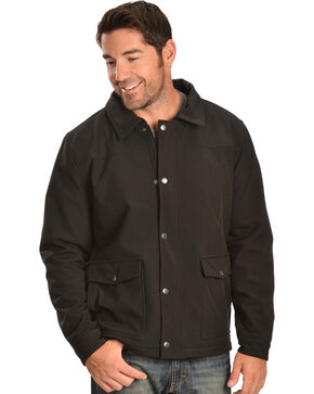 Red Ranch Men's Black Bonded Western Jacket, Black, hi-res