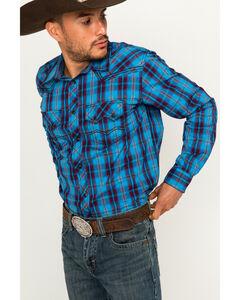 Cody James Men's Plaid Long Sleeve Shirt, , hi-res