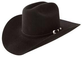 Resistol 7X Fur Felt Cowboy Hat, Black, hi-res