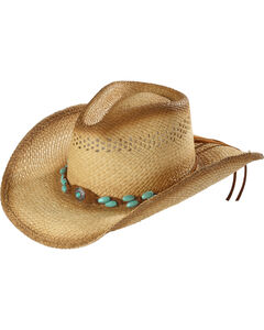 Bullhide You are Easy on the Eyes Straw Cowgirl Hat, , hi-res