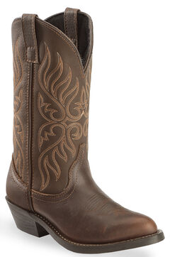 Laredo Copper Kettle Cowgirl Boots - Round Toe, , hi-res