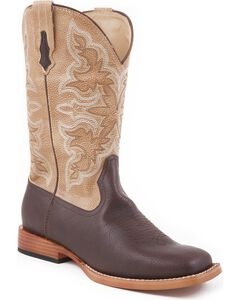 Roper Youth Tan Cowboy Boots, , hi-res