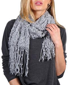 Shyanne® Women's Open Weave Fringe Scarf, , hi-res