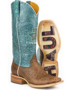 Tin Haul Women's Aztec Print Native Cowgirl Boots - Square Toe, , hi-res