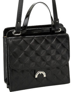 Designer Concealed Carry Quilted Newport Crossbody Bag, , hi-res