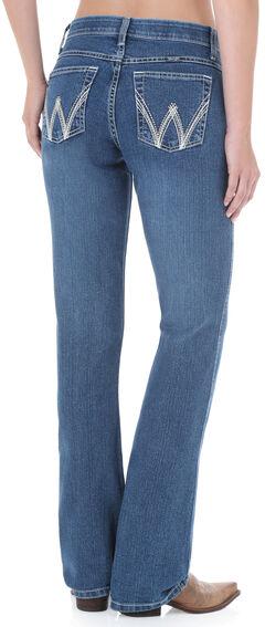 Wrangler Women's QBaby Cool Vantage Medium Wash Jeans, , hi-res
