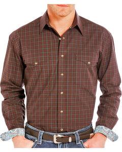 Rough Stock by Panhandle Men's Plaid Long Sleeve Shirt, , hi-res
