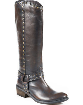 "Roper 15"" Miranda Riding Boots, Dark Brown, hi-res"