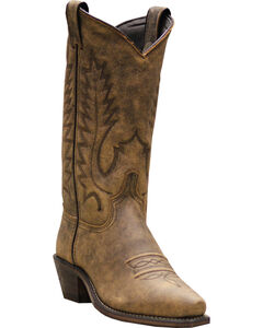 Abilene Boots Women's Covered Wagon Western Boots - Snip Toe, , hi-res