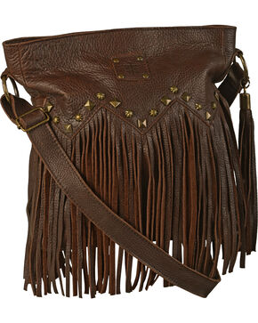 STS Ranchwear Boho Crossbody Bag, Dark Brown, hi-res