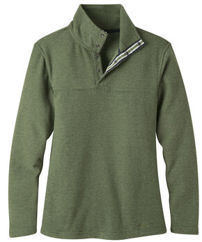 Mountain Khakis Women's Pop Top Pullover Jacket, Green, hi-res