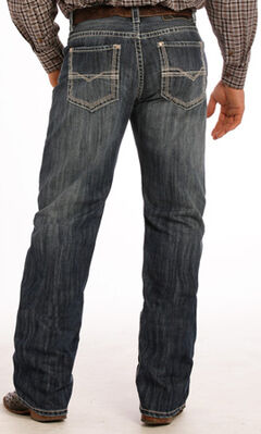 Tuf Cooper Performance Dark Vintage Competition Fit Jeans - Straight Leg , , hi-res