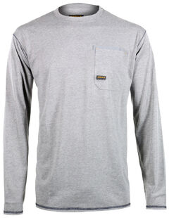Ariat Men's Rebar Crew Long Sleeve Shirt, , hi-res