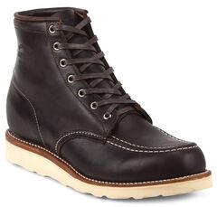 Chippewa Men's Cognac General Utility Boots - Moc Toe, , hi-res