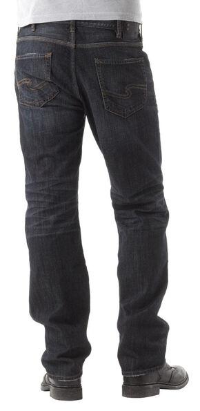 Silver Grayson Indigo Straight Leg Jeans, Indigo, hi-res