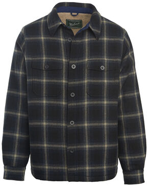 Woolrich Men's Charley Brown Shirt Jacket, Black, hi-res