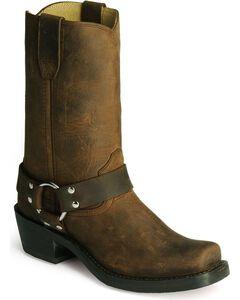 Durango Women's Harness Cowgirl Boots - Square Toe, , hi-res
