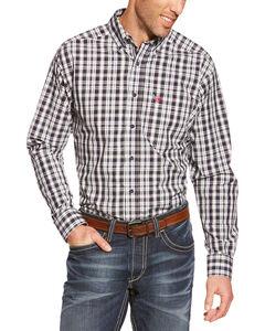 Ariat Pro Series Smithfield Plaid Western Shirt, , hi-res