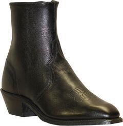 Abilene Boots Men's Zipper Short Dress Boots, , hi-res