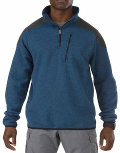 5.11 Tactical 1/4 Zip Sweater Fleece, , hi-res