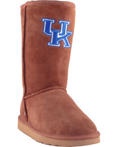 Gameday Boots Women's University of Kentucky Lambskin Boots, , hi-res