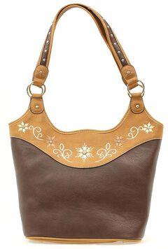Blazin Roxx Floral Embroidered Bucket Bag, , hi-res