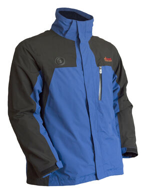 My Core Control Men's Heated Ski Jacket, Blue, hi-res