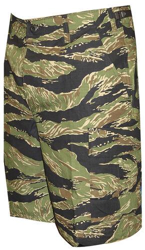 Tru-Spec Men's Original Vietnam Tiger Stripe Camo BDU Shorts, Camouflage, hi-res