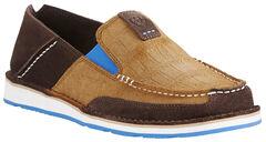 Ariat Men's Chocolate Cruiser Shoes - Moc Toe, Chocolate, hi-res