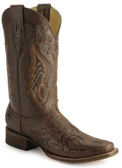 Corral Snake Inlay Cowgirl Boots, , hi-res