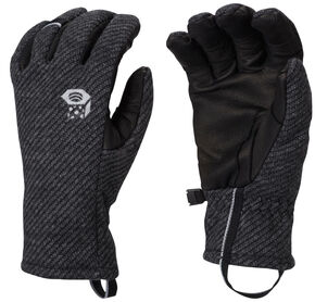 Mountain Hardwear Women's Gravity Gloves, Black, hi-res
