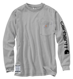 Carhartt Flame Resistant Force Cotton Graphic Long Sleeve Shirt, , hi-res