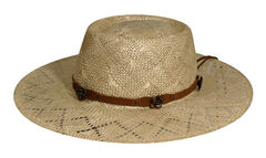 Renegade by Bailey Women's Honey Gambler Straw Hat, , hi-res