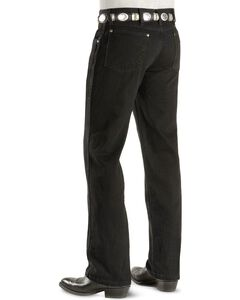 "Wrangler Jeans - Cowboy Cut 36 MWZ Slim Fit Black - 38"" Tall Inseams, , hi-res"
