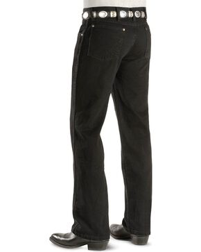 "Wrangler Jeans - Cowboy Cut 36 MWZ Slim Fit Black - 38"" Tall Inseams, Black, hi-res"