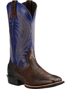 Ariat Glazed Twilight Catalyst Prime Cowboy Boots - Square Toe, , hi-res