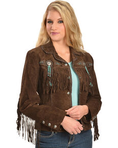 Women's Leather Coats & Suede Jackets: Fringe & More - Sheplers