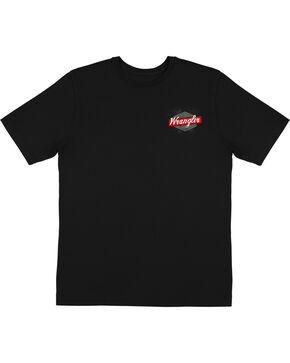 Wrangler Men's Black Bull Rider T-Shirt , Black, hi-res