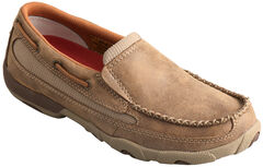 Twisted X Women's Leather Driving Mocs , , hi-res