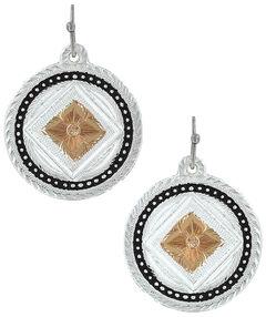 Montana Silversmiths Women's Wild Prairie Rose Earrings, , hi-res