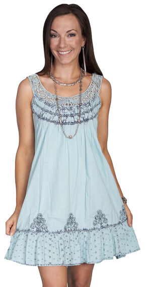 Scully Blast Dress, Turquoise, hi-res