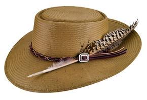 Bailey Western Rowan Buckaroo Hat, Khaki, hi-res