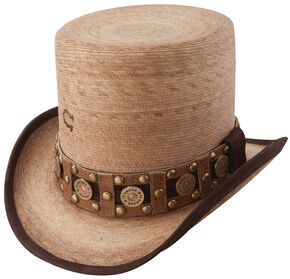 Charlie 1 Horse Women's Burned Natural Quick Draw Hat, Natural, hi-res