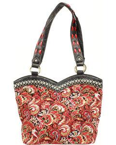 Blazin Roxx Quilted Paisley Boot Top Handbag, , hi-res