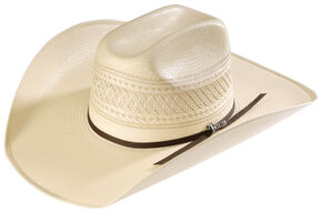 Twister All Over Shantung Cowboy Hat, Natural, hi-res
