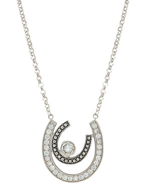Montana Silversmiths Women's Vintage Charm Cherished Treasure Necklace, Silver, hi-res