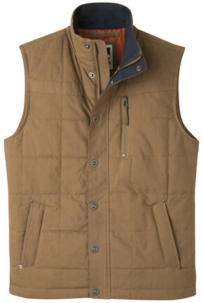 Mountain Khakis Men's Swagger Vest, Brown, hi-res