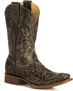 Corral Python Inlay Western Boots, , hi-res